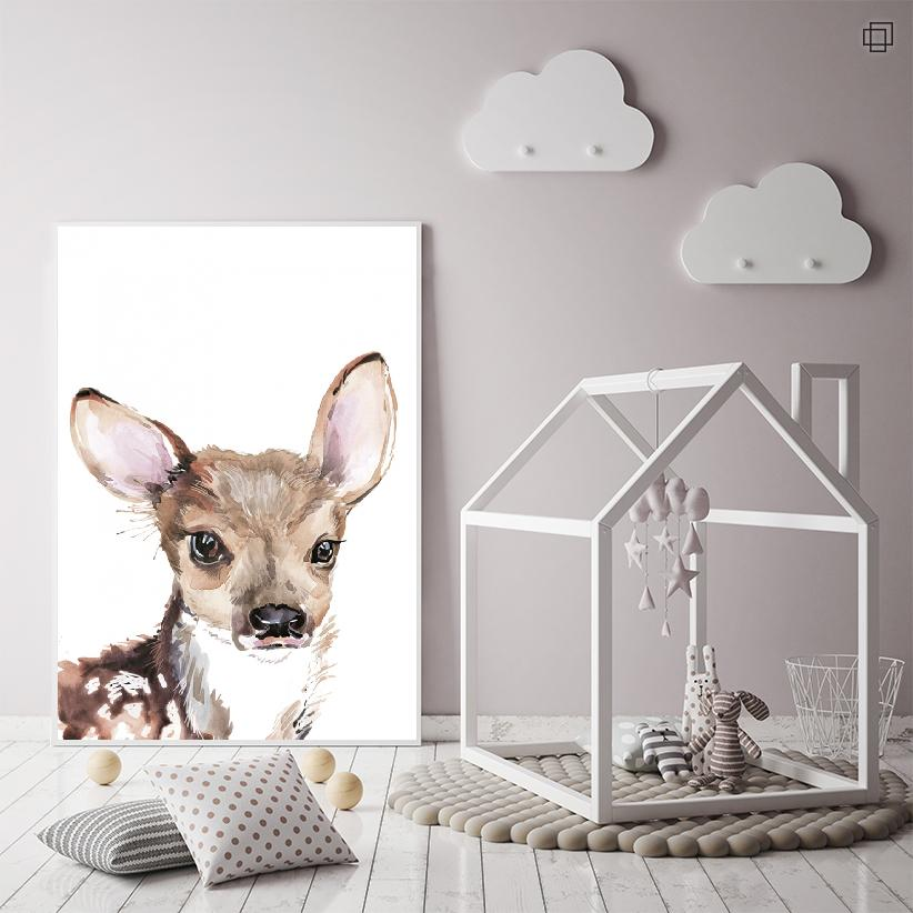 LITTLE DEER Plakat
