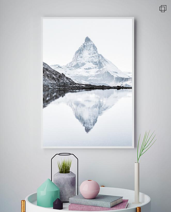 MATTERHORN REFLECTION Plakat