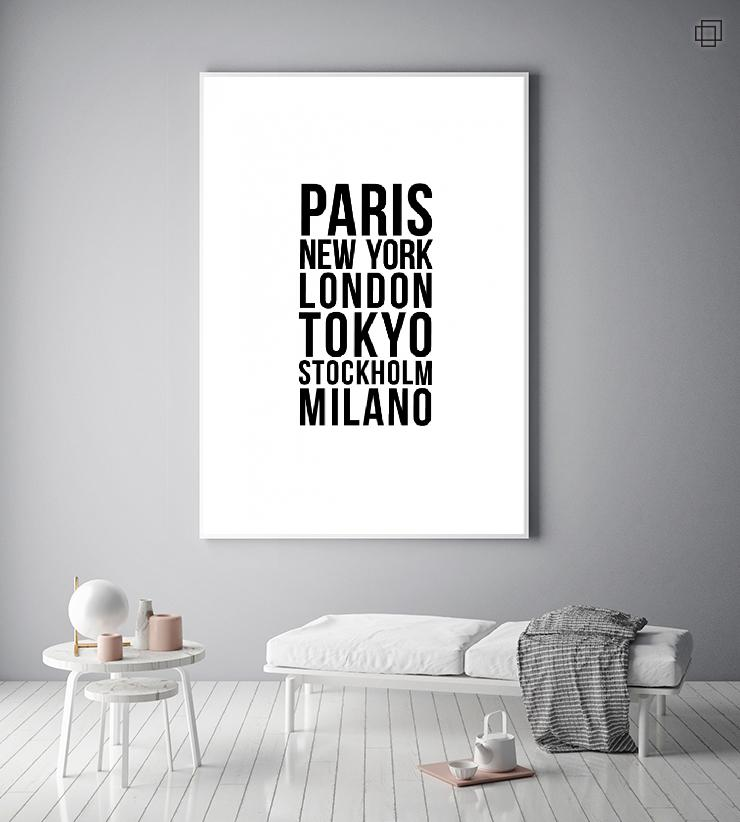 FASHION CITIES Plakat