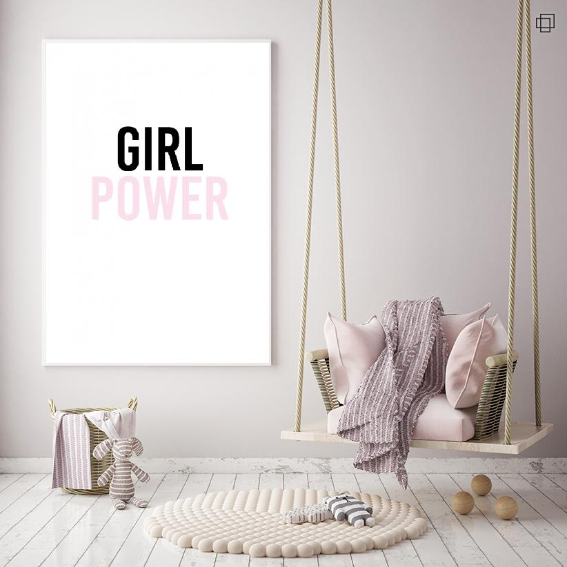 GIRL POWER Plakat