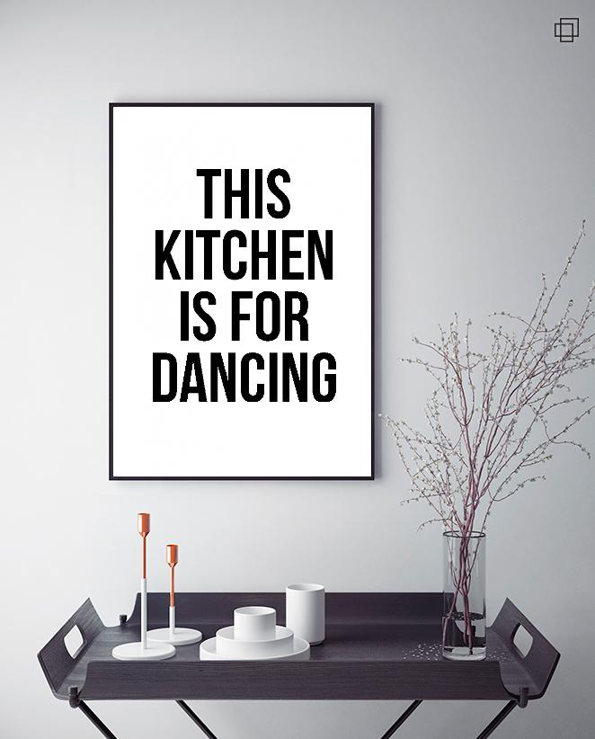 THIS KITCHEN Plakat