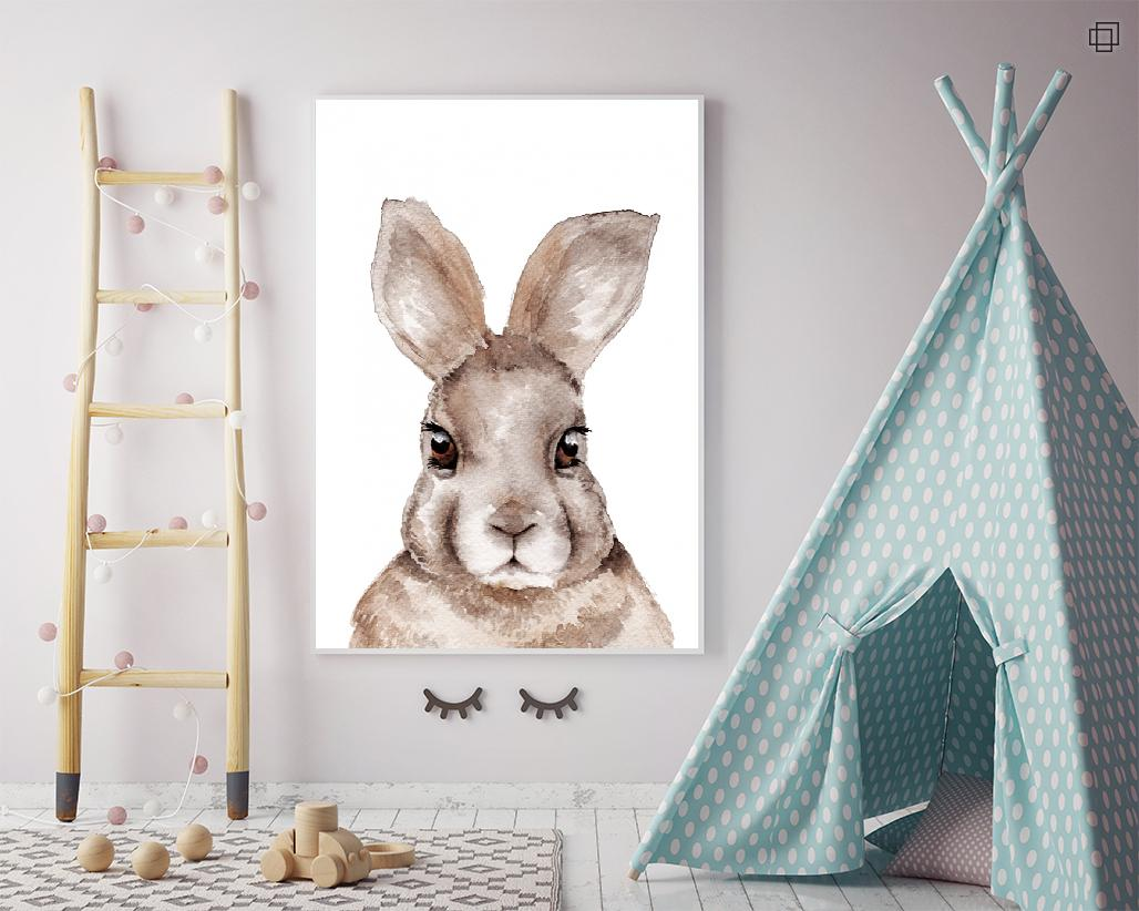 RABBIT PORTRAIT Plakat