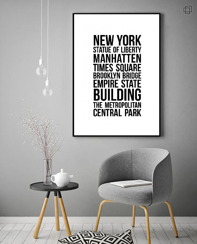 NEW YORK CITY Plakat