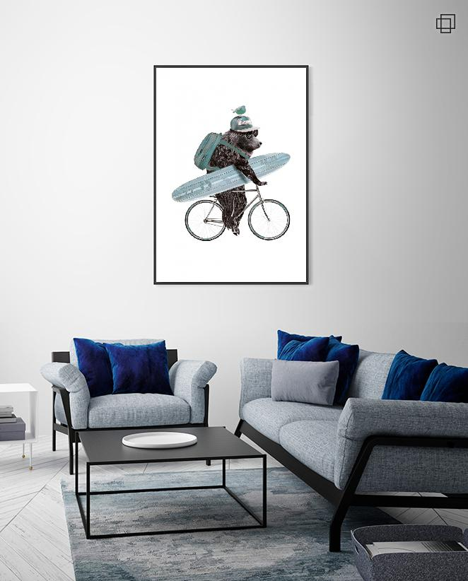 BEAR BIKE Plakat