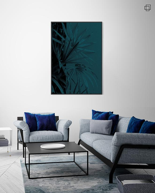 BLUE PLANT ONE Plakat