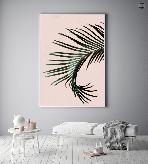 PALM TREE ON PINK
