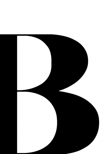 LETTER B ONE