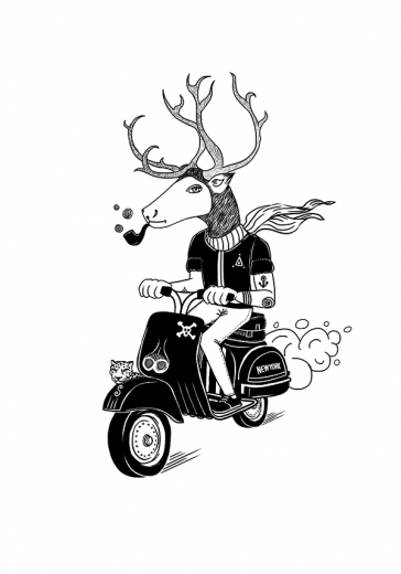 MOPED DEER