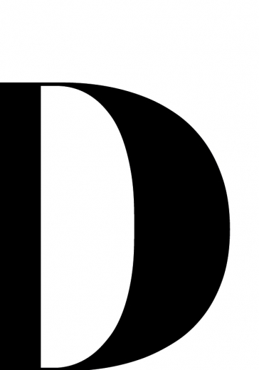 LETTER D ONE