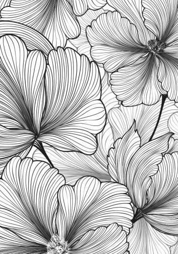 BOTANICAL PATTERN ART