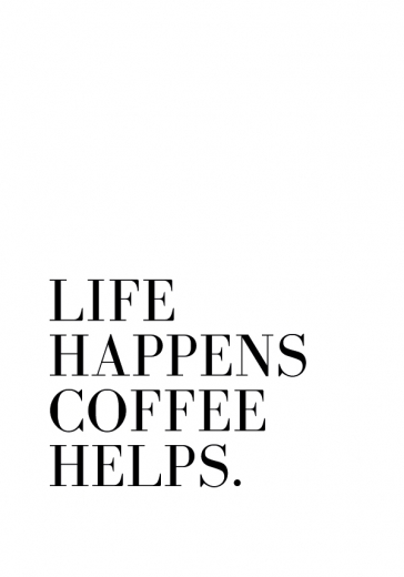 COFFEE HELPS