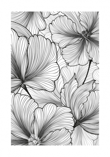 FLOWER PATTERN ART