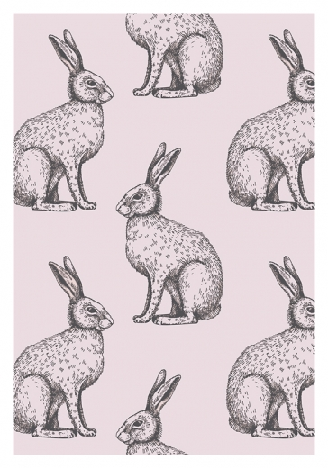 BUNNY PATTERN PINK