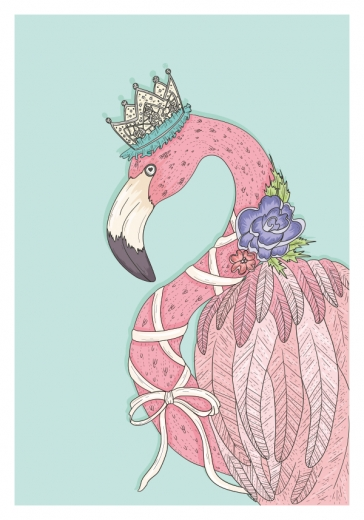 FLAMINGO QUEEN