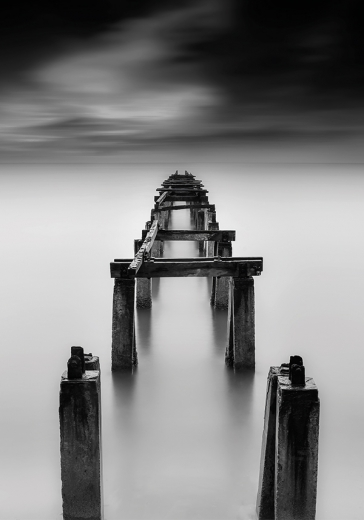 DARK BEACH BRIDGE