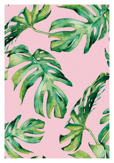 TROPIC PATTERN PINK TWO