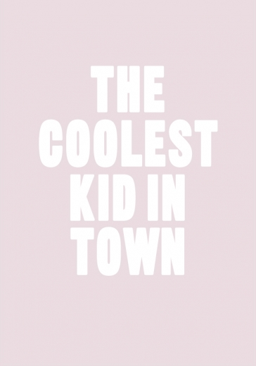 COOLEST KID PINK