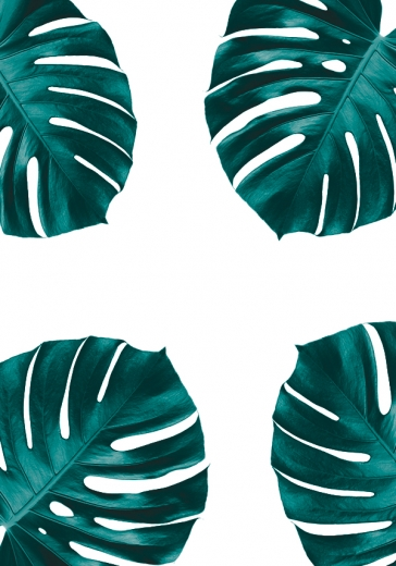 MONSTERA ART PATTERN