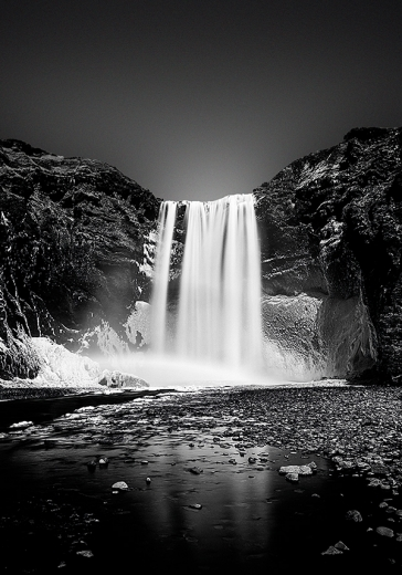 WATERFALL DARKNESS ONE