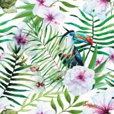 TOUCAN FLOWER PATTERN